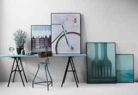 Vissevasse poster Amsterdam Canal Houses | 2 maten