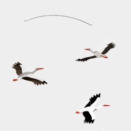 Flensted mobiel Lucky Storks ooievaars