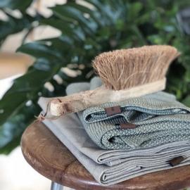 Humdakin Knitted Kitchen Towel Handdoek - Dusty Green