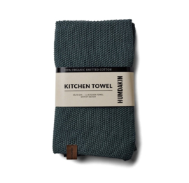 Humdakin Knitted Kitchen Towel Handdoek - Green Seaweed