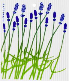 Kattinatt Zweedse vaatdoek Lavendel