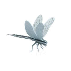 Lovi Dragonfly houten libelle kaart - Small - diverse kleuren