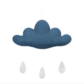 Gamcha vilten wolk Turquoise