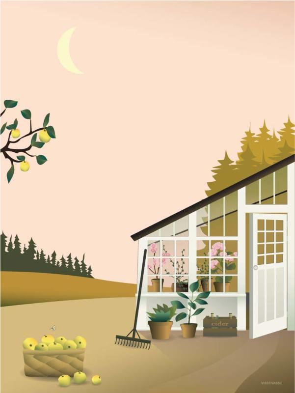 Vissevasse poster Garden Life - 3 maten