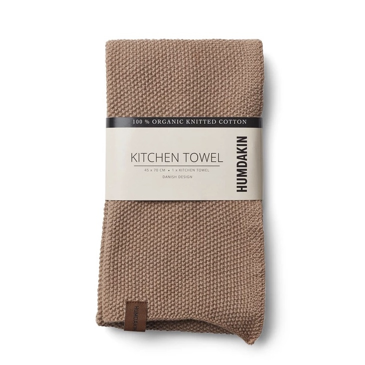 Humdakin Knitted Kitchen Towel Handdoek - Latte