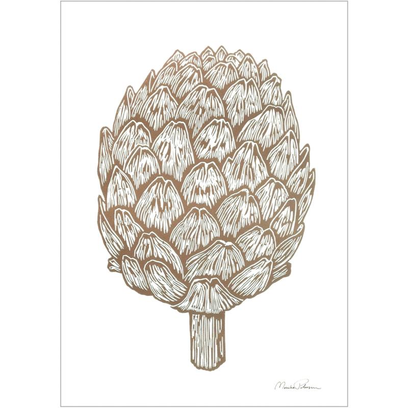 Monika Petersen Mini Art Print Artichoke | A5