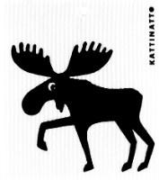 Kattinatt Zweedse vaatdoek Moose