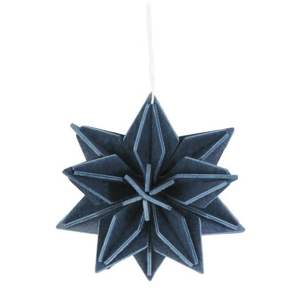 Lovi Star houten ster kaart - Medium - diverse kleuren