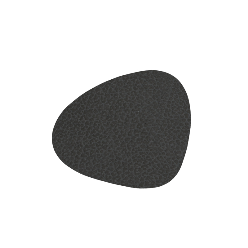 Lind DNA Glass mat Curve - Hippo Black-Anthracite