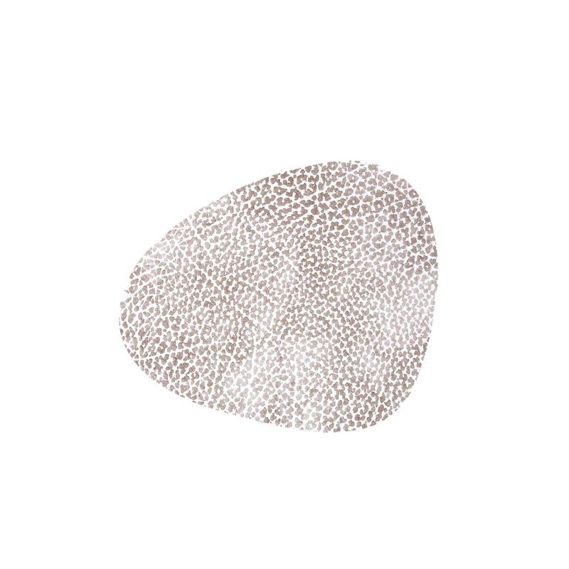 Lind DNA Glass mat Curve - Hippo White-Grey