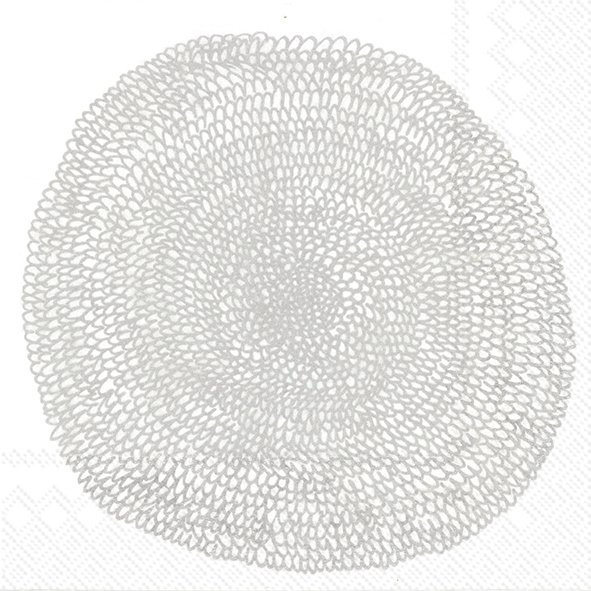 Marimekko Papieren servetten Pippurikerä Silver