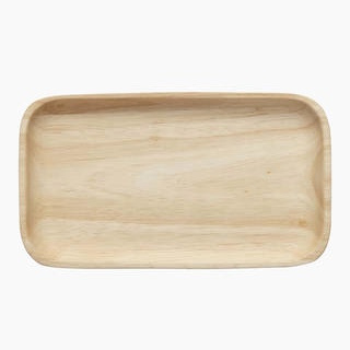 Marimekko Oiva houten tray 18,4 x 10,4 cm