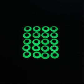 Pike Monkey Epoxy Eyes 12mm (20pcs)