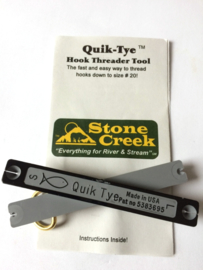 Quick Tye Hook threader tool