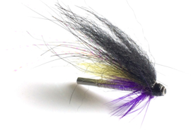 Alu Tubeflies Purple -Yellow