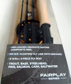 Cortland Fairplay Rod & Reel Combo Kit