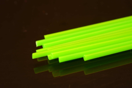Hard Plastic Tube 1.8mm fluo green (2m)