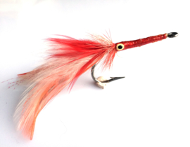 Stu Apte Tarpon Fly Red-White
