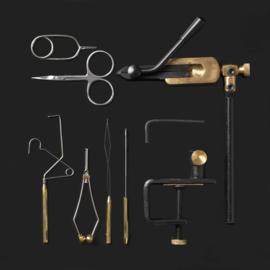 Fly Tying Tool Kit & Rotating Vise