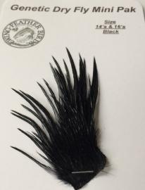 Ewing Dry Fly Mini Pack Black #12-#14