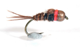 Tungsten Red Neck Pheasant Tail Nymph #14