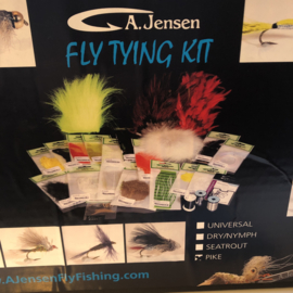 A.Jensen Fly Tying Kit PIKE
