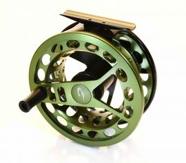 A. Jensen Target Reel #8/10 -Pike- (Olive)