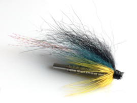 Alu Tubeflies Blue-Yellow