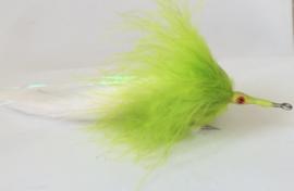 Tarpon Bunny White Chartreuse