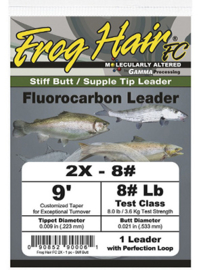 Frog Hair Fluorocarbon Leader