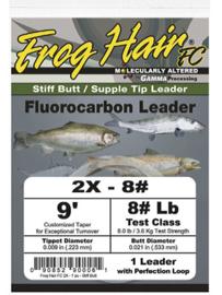 Frog Hair Fluorocarbon Leader