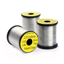 UNI Mono Thread Medium Clear