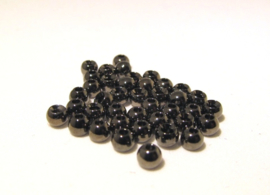 Brass Beads Black-Titanium