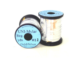 UNI Mylar Tinsel Gold-Silver #12 medium