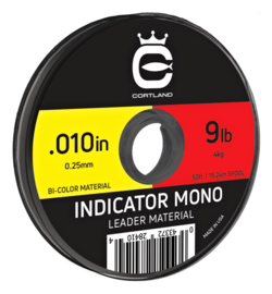 Cortland Indicator Mono Red/Yellow 0.23mm