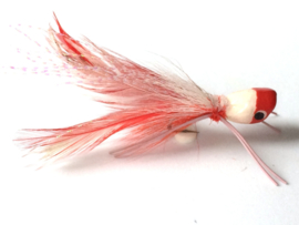Bass Popper red-white