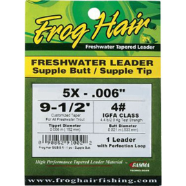 Frog Hair Fresh Water Leader