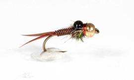 Tungsten Copper John Brown Nymph #12