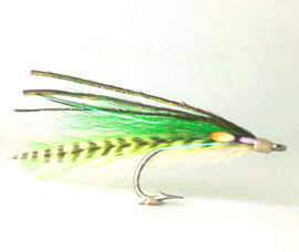 Flatwing Grizzly Green #2/0