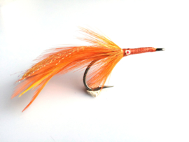 Stu Apte Tarpon Fly Orange