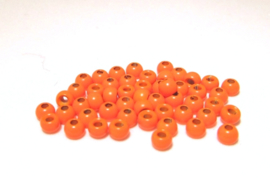 Fly Tying Brass Beads Orange 3.3mm