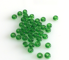 Glass Beads Green 2.6mm