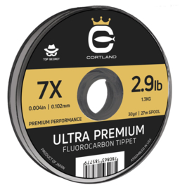 Cortland Top Secret Ultra Premium Fluorocarbon Tippet