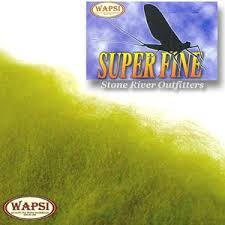 Wapsi Superfine Dry Fly Dubbing