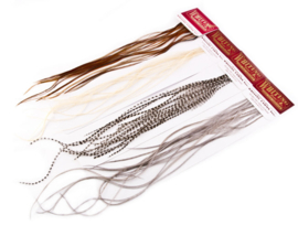 Whiting 100's Saddle Packs (Dry Fly Hackle)