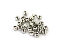 Poseidon Silver Beads 4.6mm
