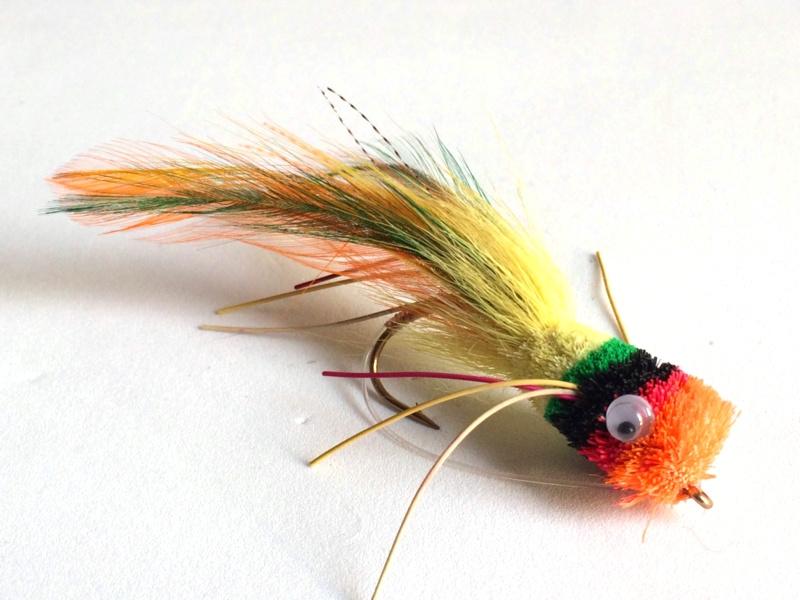 Deer Hair Bass Bug Fruit Cocktail
