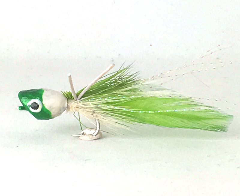 Bass Popper green