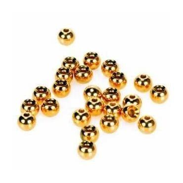 Poseidon Tungsten Beads Gold