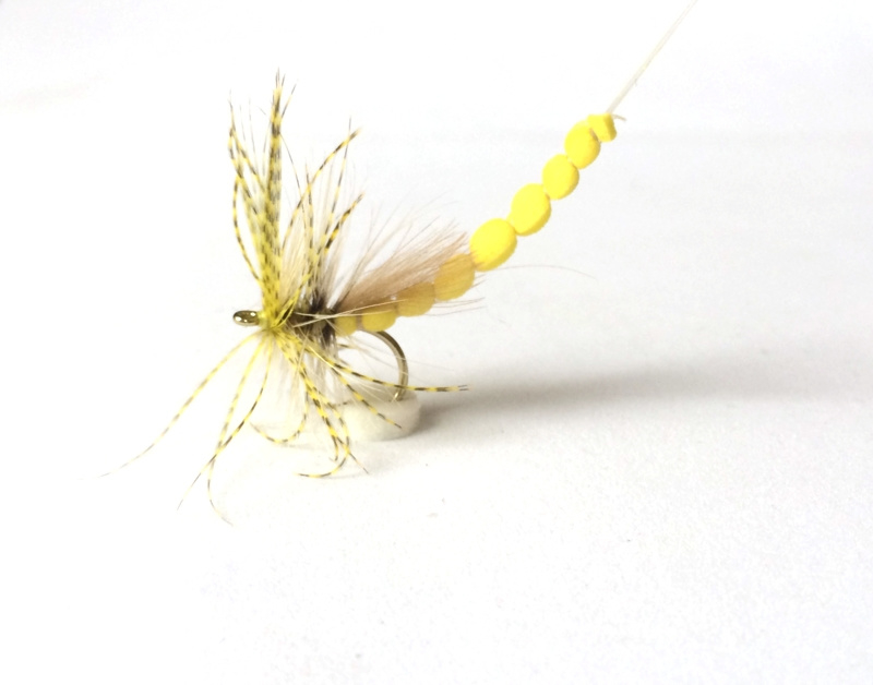 Yellow Mayfly Foam